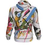Small Worlds I by Kandinsky - Hoodie