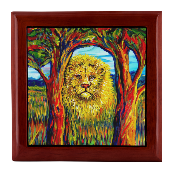 Soul Lion by Tocher - Jewelry Box