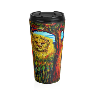 Soul Lion by Tocher - Stainless Steel Travel Mug
