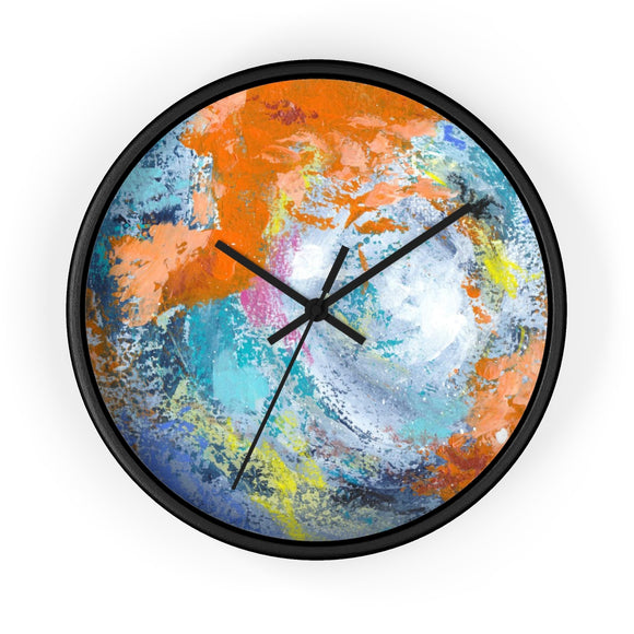 Lyrical by DeScala Wall clock