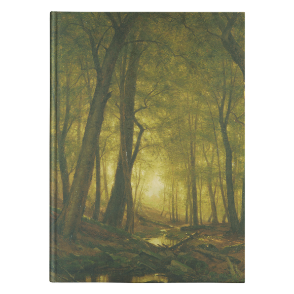 Evening in the Woods by Whittredge - Hardcover Journal