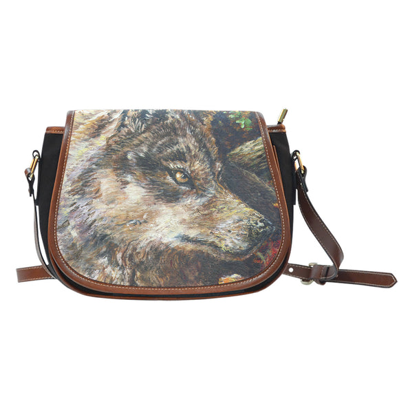 Wolf by Tocher - Saddle Bag Purse
