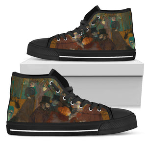 At the Moulin Rouge by Talouse-Lautrec - Men's High Top Shoe