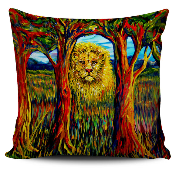 Soul Lion by Tocher - Pillow Cover