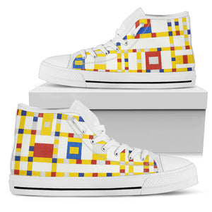 Broadway Boogie Woogie by Mondrian - Women's High Top Shoes