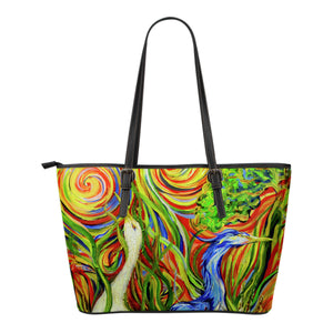 Wetlands 2 by Tocher - Eco-Leather Tote Bag