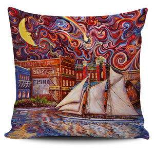 Pt Townsend State of Mind by Tocher - Pillow Cover