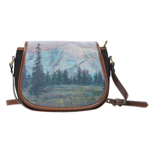 The Pinks of Rainier by Pierce - Saddle Bag Purse