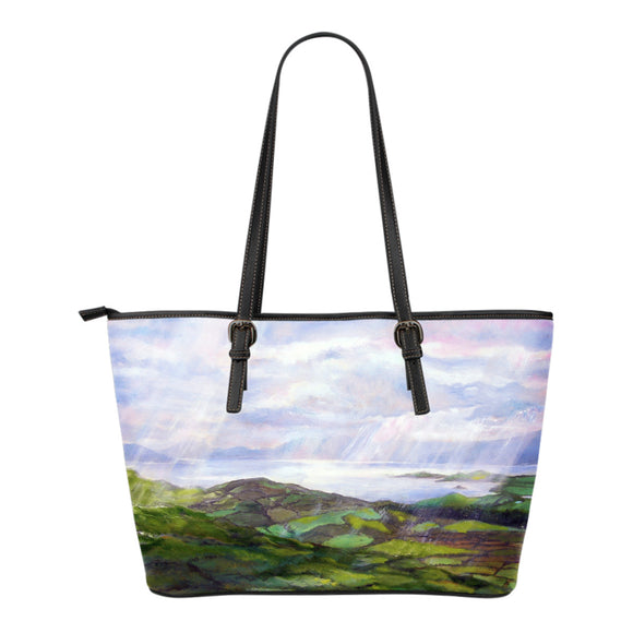 Emerald Isle by Tocher - Eco-Leather Tote Bag