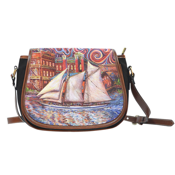 Pt Townsend State of Mind by Tocher - Saddle Bag Purse