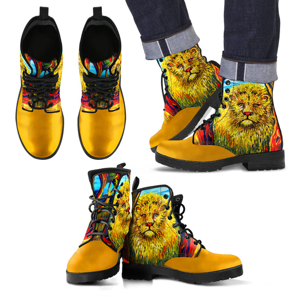 Soul Lion by Tocher - Men's Eco-Leather Boots