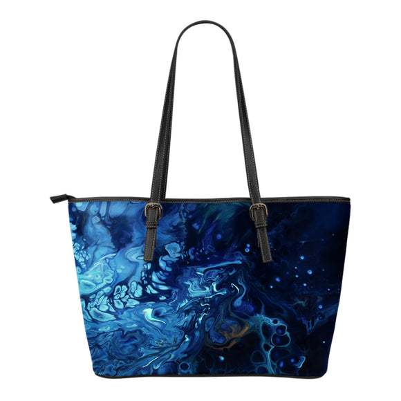 Introspection by DeScala - Eco-Leather Tote Bag