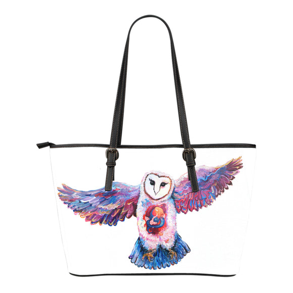 Owl Spirit by Tocher - Eco-Leather Tote