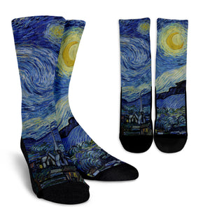 Starry Night by van Gogh - Socks
