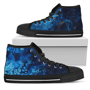 Introspection by DeScala - Women's High Top Shoes