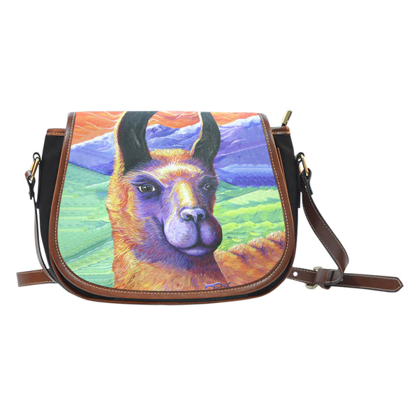 Llama by Tocher - Saddle Bag Purse