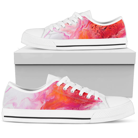 Comet's Fire by DeScala - Women's Low Top Shoes