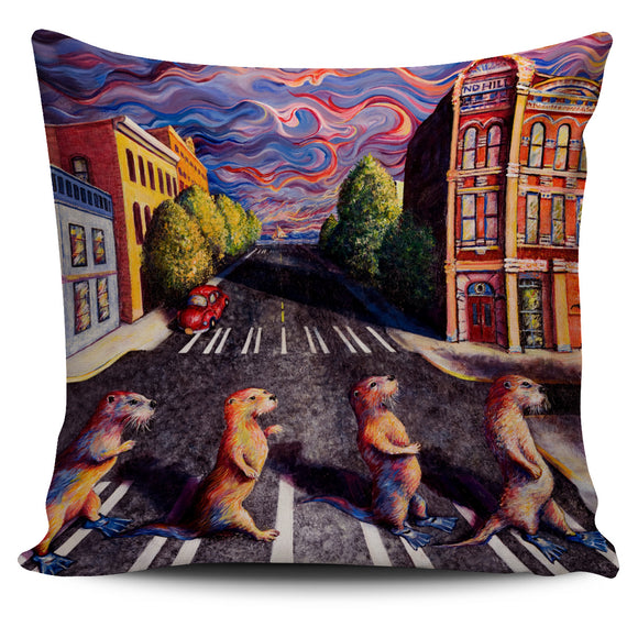 Otter Road by Tocher - Pillow Cover