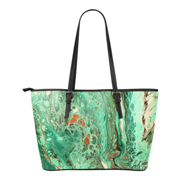 Mint Jubilee by DeScala - Eco-Leather Tote Bag