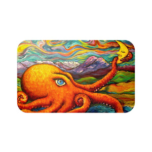 Octopi Port Angeles by Tocher - Bath Mat