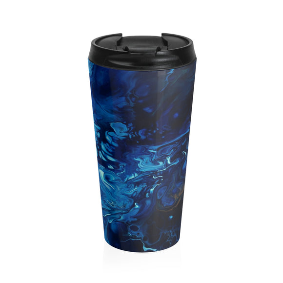 Introspection by DeScala - Stainless Steel Travel Mug
