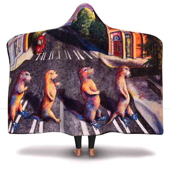 Otter Road by Tocher - Hooded Blanket