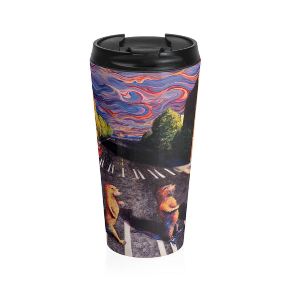 Otter Road by Tocher - Stainless Steel Travel Mug