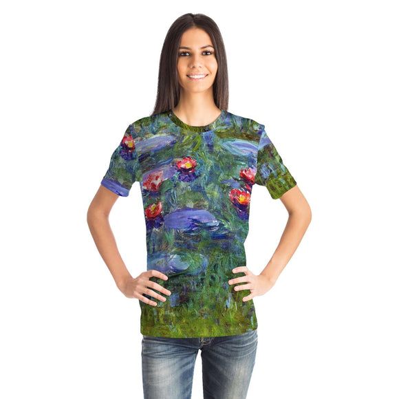Water Lilies by Monet - Unisex T-Shirt