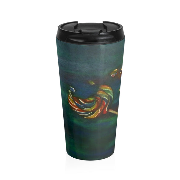 Wishing on a Lollipop by Lumens - Stainless Steel Travel Mug