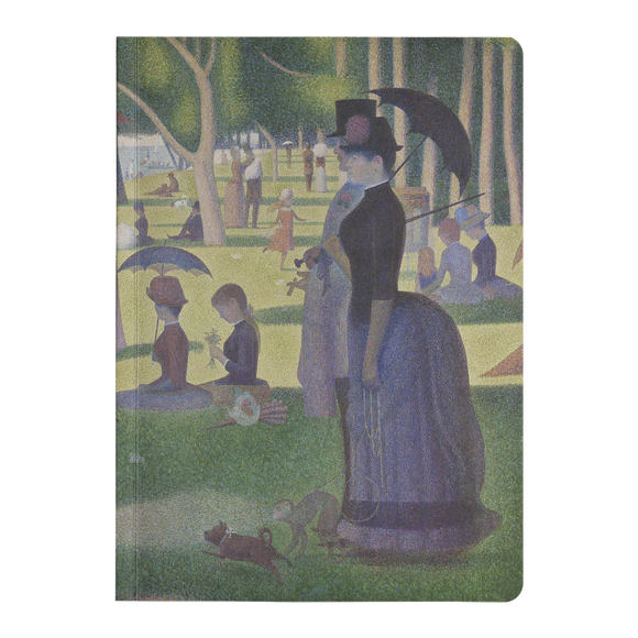 A Sunday on La Grande Jatte by Seurat - Paperback Journal