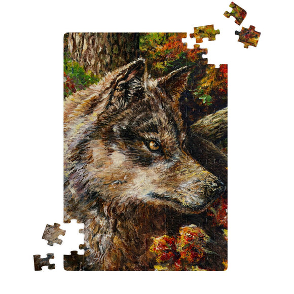Wolf by Tocher - Jigsaw Puzzles