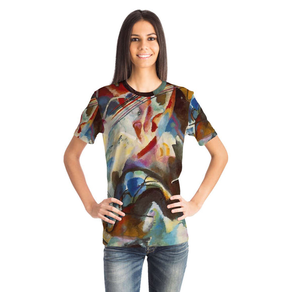Composition VI by Kandinsky - Unisex T-Shirt