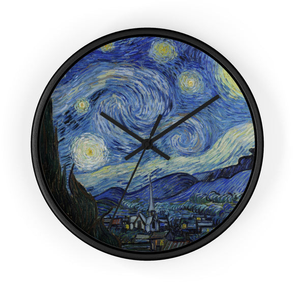 Starry Night by van Gogh Wall clock