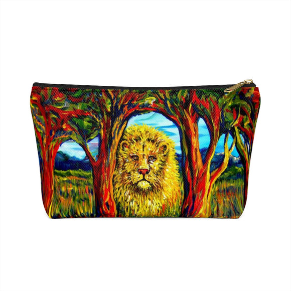 Soul Lion by Tocher - Accessory Pouches with T-bottom