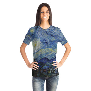 Starry Night by van Gogh - Unisex T-Shirt