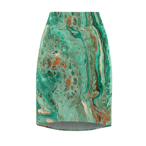 Mint Jubilee by DeScala - Women's Pencil Skirt