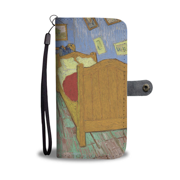 The Bedroom by Van Gogh - Wallet Phone Case