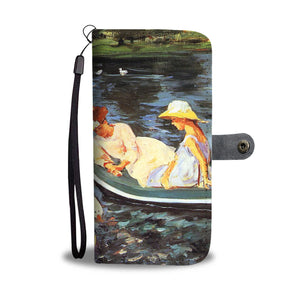 Summertime by Cassatt - Wallet Phone Case
