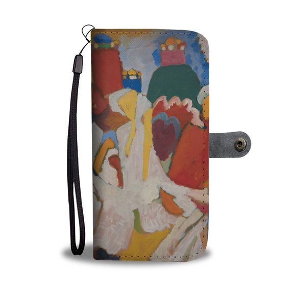 Oriental by Kandinsky - Wallet Phone Case