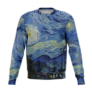 Starry Night by van Gogh - Fashion Sweatshirt, Super Soft and Cozy