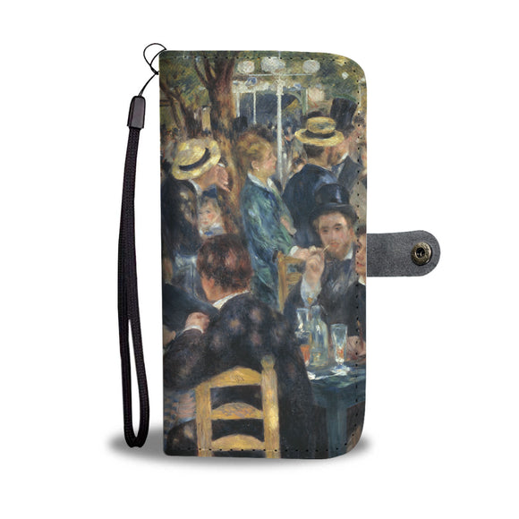 Dance at le Moulin de la Galette by Renoir - Wallet Phone Case