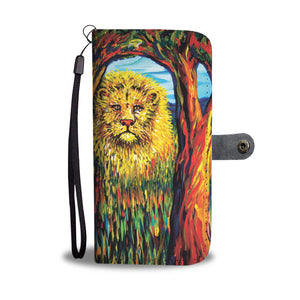 Soul Lion by Tocher - Wallet Phone Case