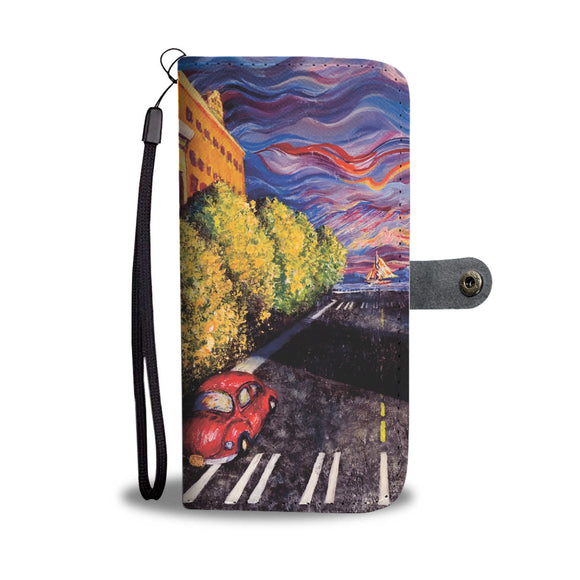 Otter Road by Tocher (Closeup 1) - Wallet Phone Case