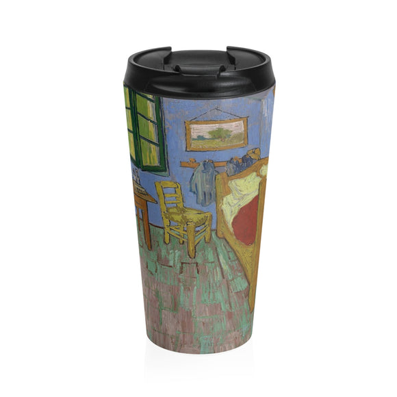 The Bedroom by van Gogh - Stainless Steel Travel Mug