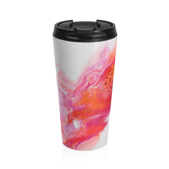 Comet's Fire by DeScala - Stainless Steel Travel Mug