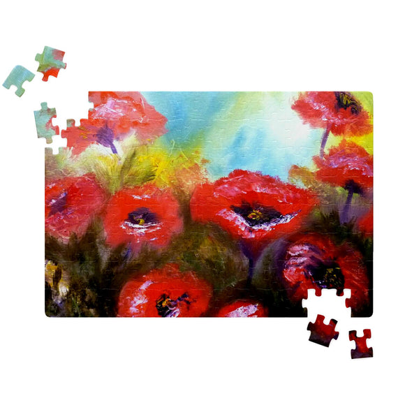 Poppies by Lumens - Jigsaw Puzzles