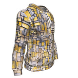 Tableau 2 Composition VII by Mondrian - Hoodie