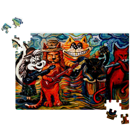Chesnut Junction by Tocher - Jigsaw Puzzles