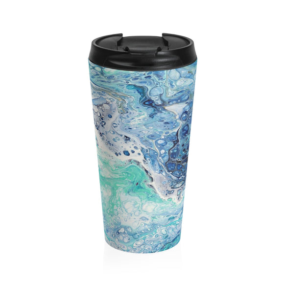 Seaside by Descala - Stainless Steel Travel Mug