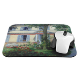 House in Rueil by Manet - Mousepad